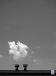 Cloud and chimneys, 2010