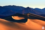 Morning light on Dunes, Death Valley, CA