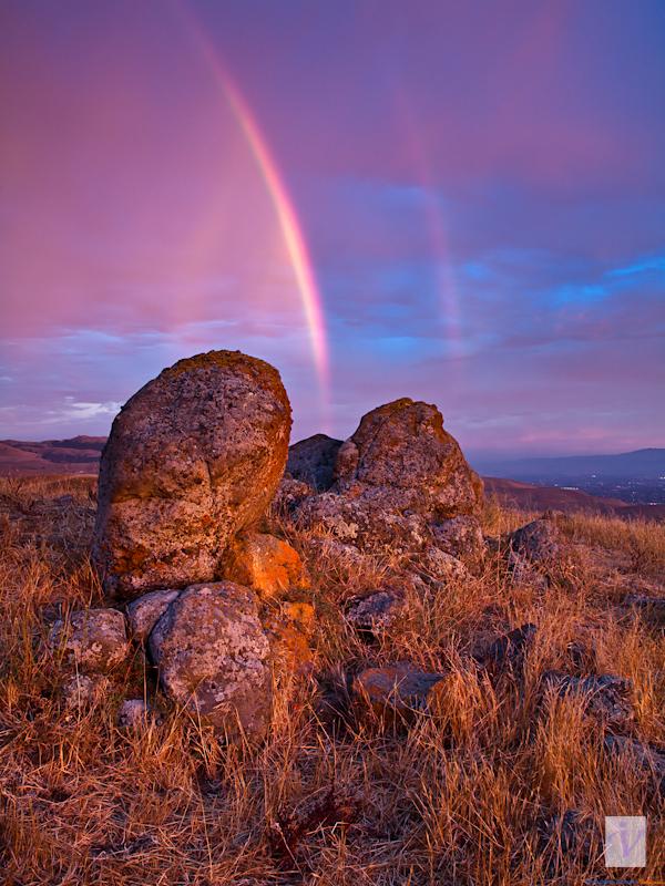 Light through the rocks, Ed Levin Park, Milpitas, CA.