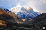 The mouth of Gangotri glacier.