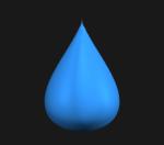 Tear drop: x^2 + y^2 = (1-z)z^3